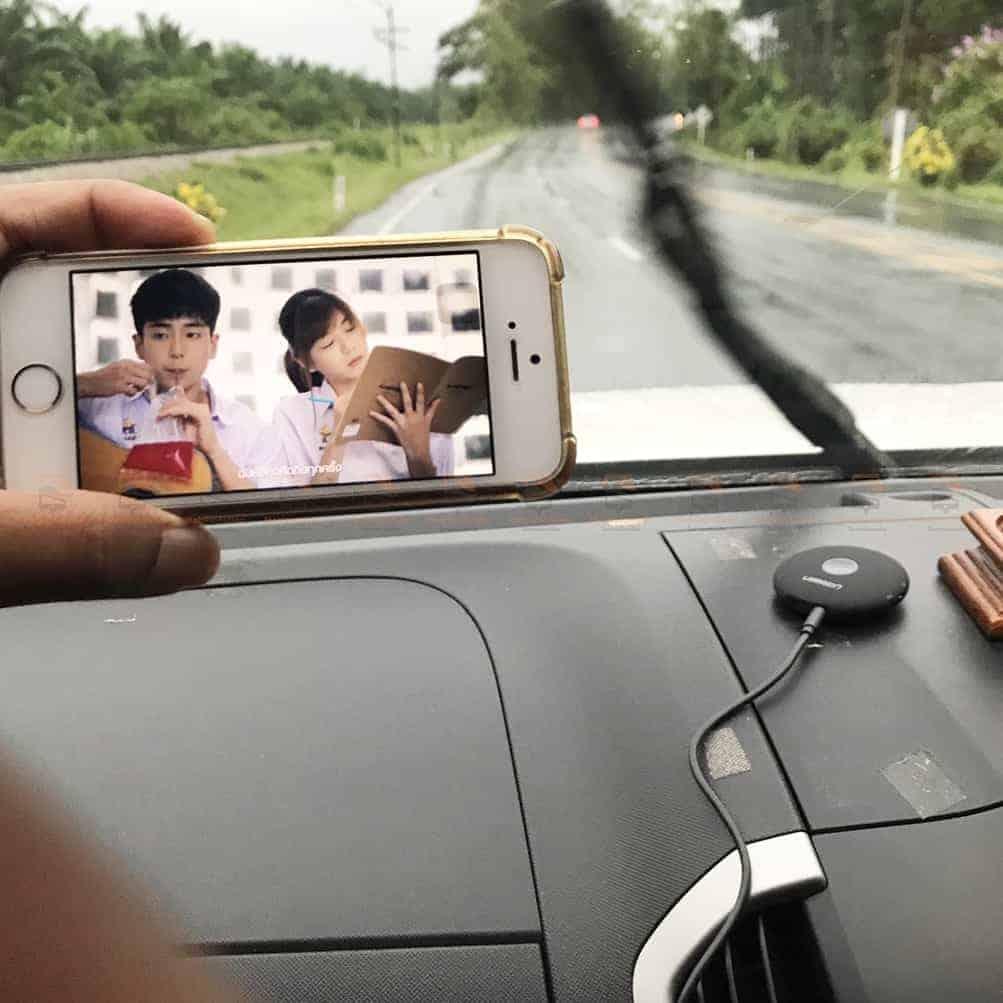 บลูทูธรถยนต์ Ugreen Aptx Bluetooth Transmitter Receiver Stereo Audio Music Adapter รุปจริง-8