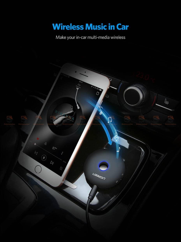 บลูทูธรถยนต์ Ugreen Aptx Bluetooth Transmitter Receiver Stereo Audio Music Adapter-10