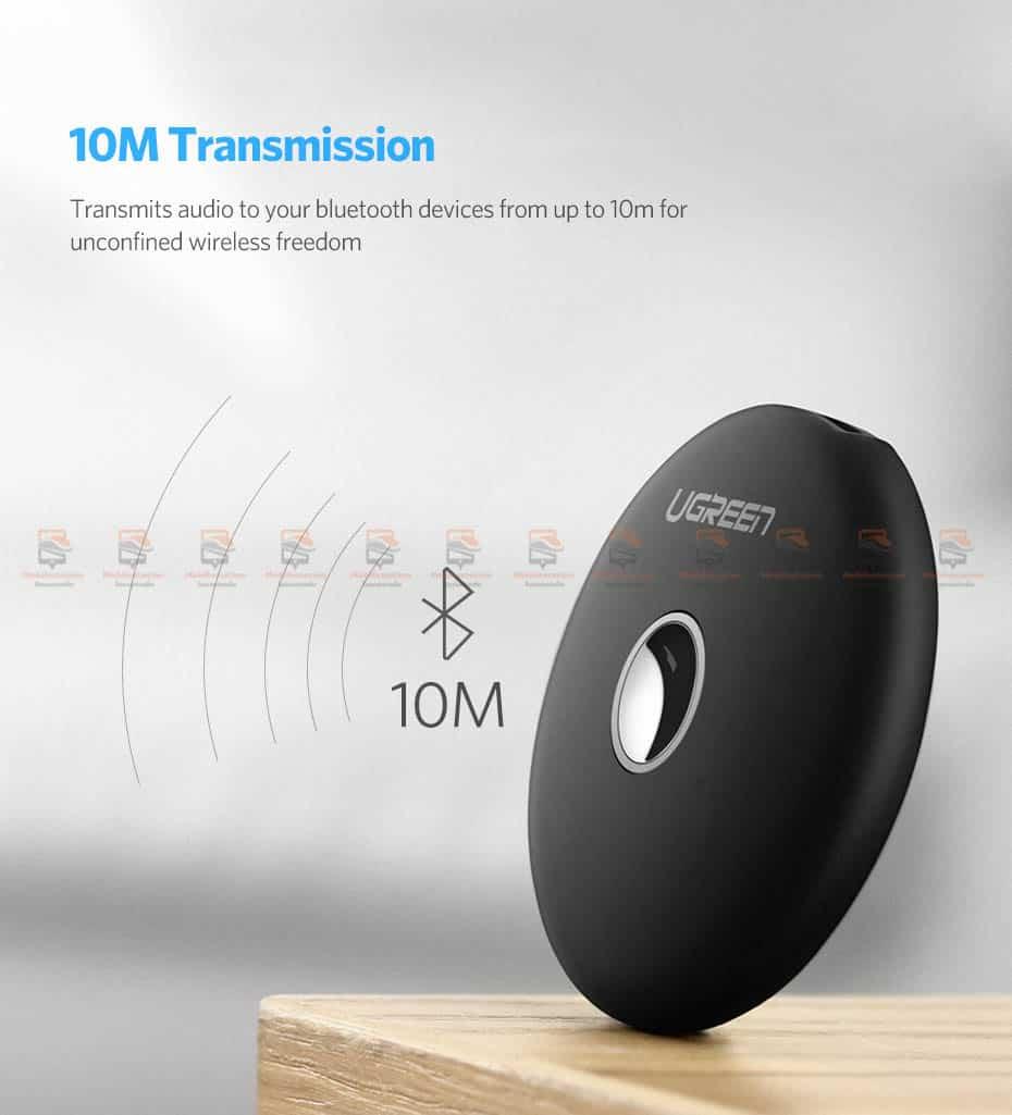 บลูทูธรถยนต์ Ugreen Aptx Bluetooth Transmitter Receiver Stereo Audio Music Adapter-14