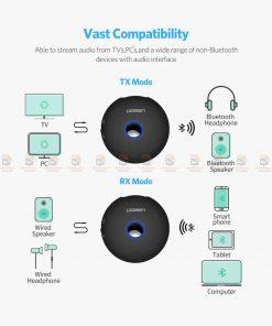 บลูทูธรถยนต์ Ugreen Aptx Bluetooth Transmitter Receiver Stereo Audio Music Adapter-3