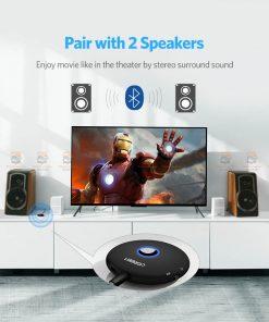 บลูทูธรถยนต์ Ugreen Aptx Bluetooth Transmitter Receiver Stereo Audio Music Adapter-7