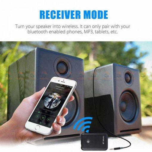 บลูทูธรถยนต์ Wireless Bluetooth Transmitter Receiver Stereo Audio Music Adapter-02
