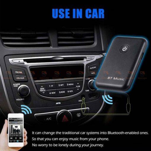 บลูทูธรถยนต์ Bluetooth Transmitter Receiver Stereo Audio Music Adapter-03