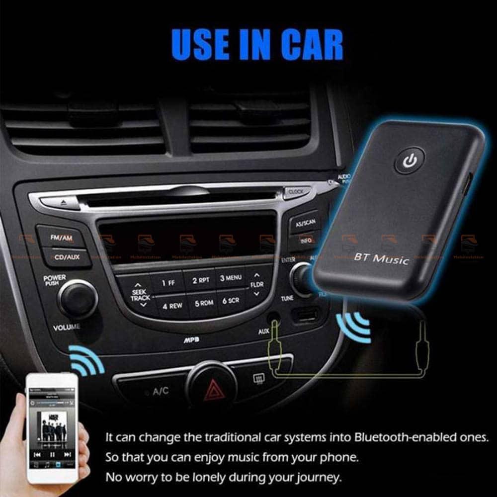 บลูทูธรถยนต์ Wireless Bluetooth Transmitter Receiver Stereo Audio Music Adapter-03