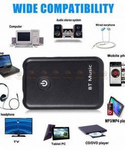 บลูทูธรถยนต์ Wireless Bluetooth Transmitter Receiver Stereo Audio Music Adapter-07