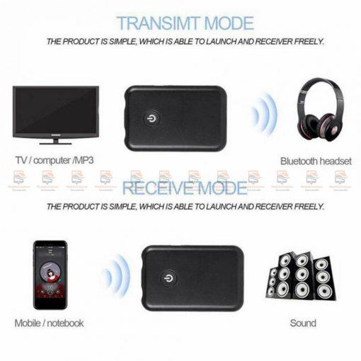 บลูทูธรถยนต์ Wireless Bluetooth Transmitter Receiver Stereo Audio Music Adapter-08