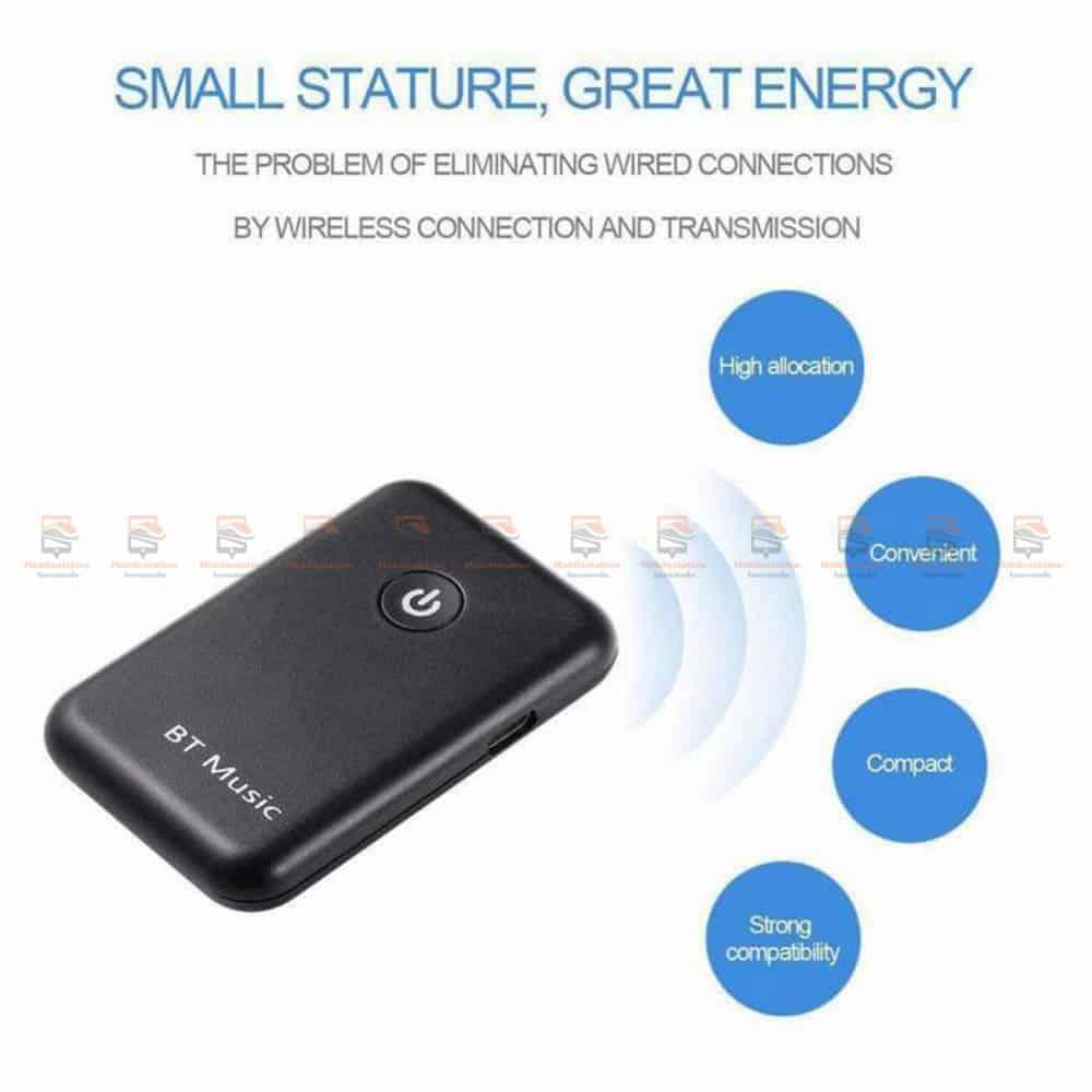 บลูทูธรถยนต์ Wireless Bluetooth Transmitter Receiver Stereo Audio Music Adapter-09