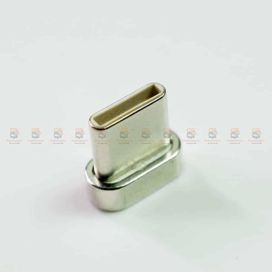 สายชาร์จแม่เหล็ก PZOZ Magnetic Cable Lighting Micro USB Type C Fast Charging รูปสินค้าจริง-5