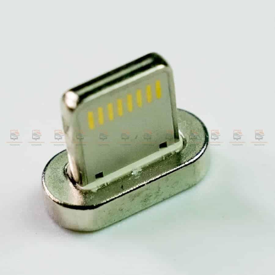 สายชาร์จแม่เหล็ก PZOZ Magnetic Cable Lighting Micro USB Type C Fast Charging รูปสินค้าจริง-7