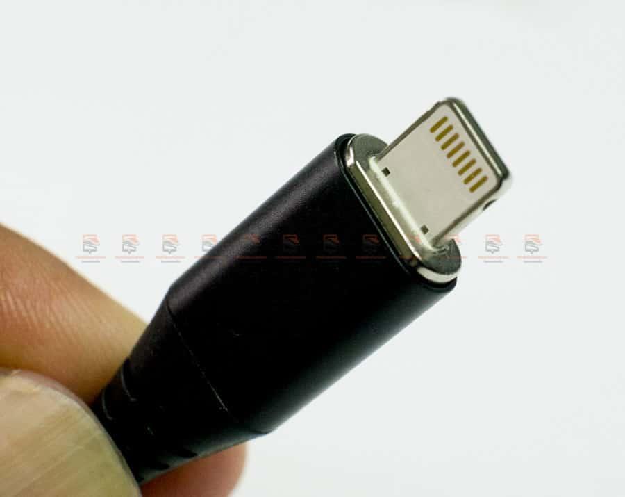 สายชาร์จแม่เหล็ก PZOZ Magnetic Cable Lighting Micro USB Type C Fast Charging รูปสินค้าจริง-8