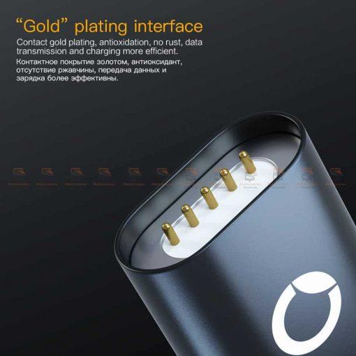 สายชาร์จแม่เหล็ก PZOZ Magnetic Cable Lighting Micro USB Type C Fast Charging 4