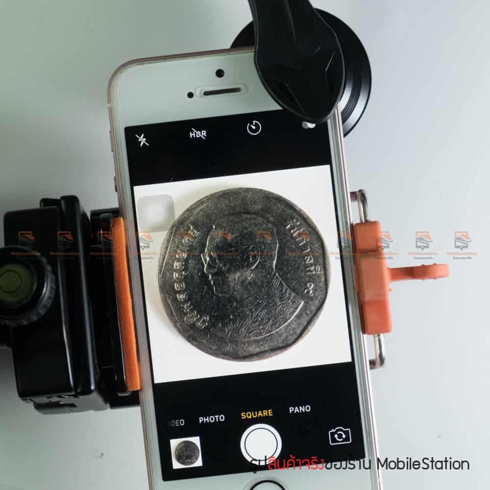 เลนส์มือถือ มาโคร APEXEL Optic phone lens 25mm 20x super macro lens สินค้าจริง-8
