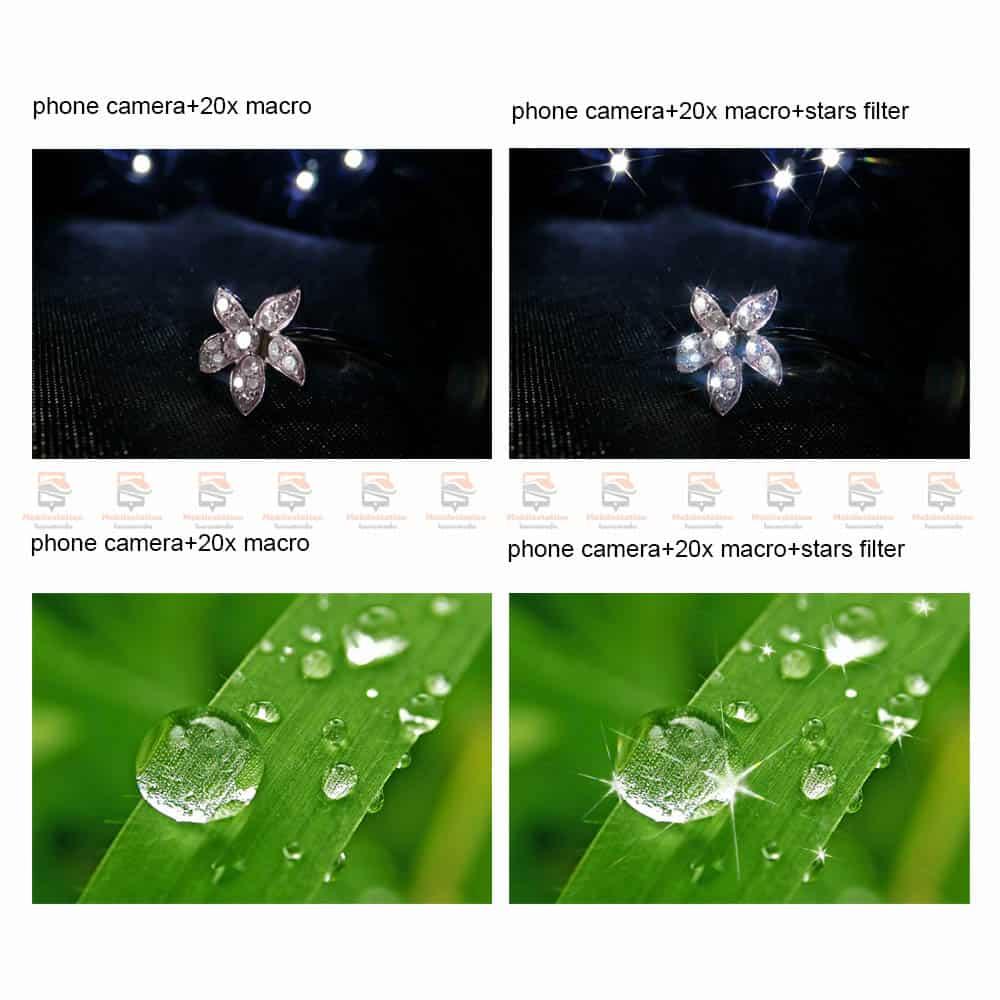 เลนส์มือถือ มาโคร APEXEL Optic phone lens 25mm 20x super macro lens-2