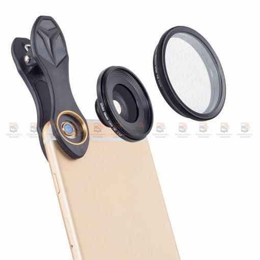 เลนส์มือถือ มาโคร APEXEL Optic phone lens 25mm 20x super macro lens-4