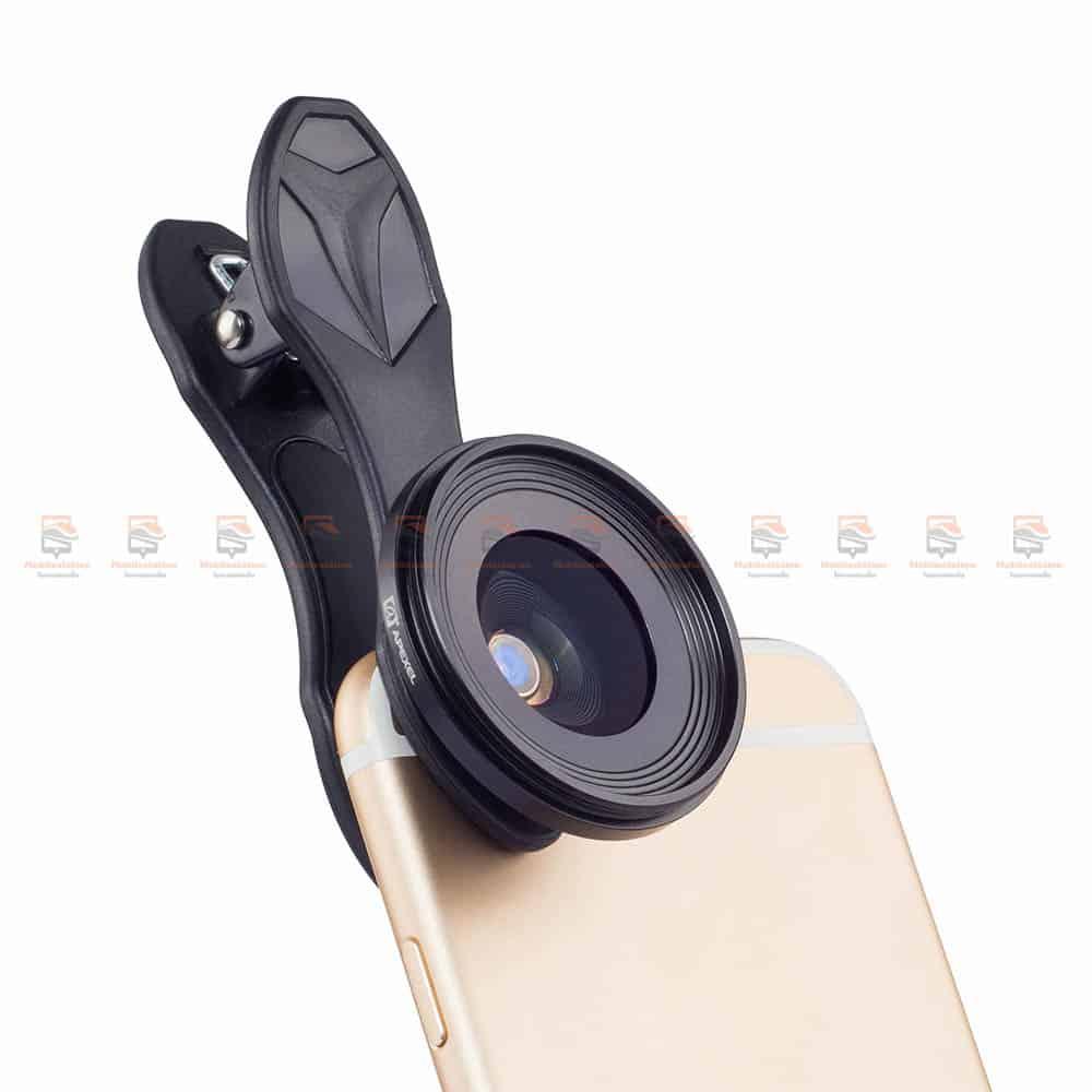 เลนส์มือถือ มาโคร APEXEL Optic phone lens 25mm 20x super macro lens-7
