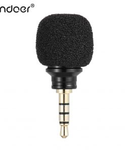 ไมค์อัดเสียง มือถือ Andoer Cellphone Smartphone Portable Mini Omni-Directional Mic Microphone 1