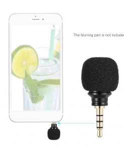 ไมค์อัดเสียง มือถือ Andoer Cellphone Smartphone Portable Mini Omni-Directional Mic Microphone 2