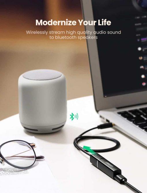 Ugreen Bluetooth Transmitter 5.0 TV Headphone PC PS4 aptX LL 3.5mm Aux SPDIF 3.5 Jack Optical Audio Music Bluetooth 5.0 Adapter modernize your life