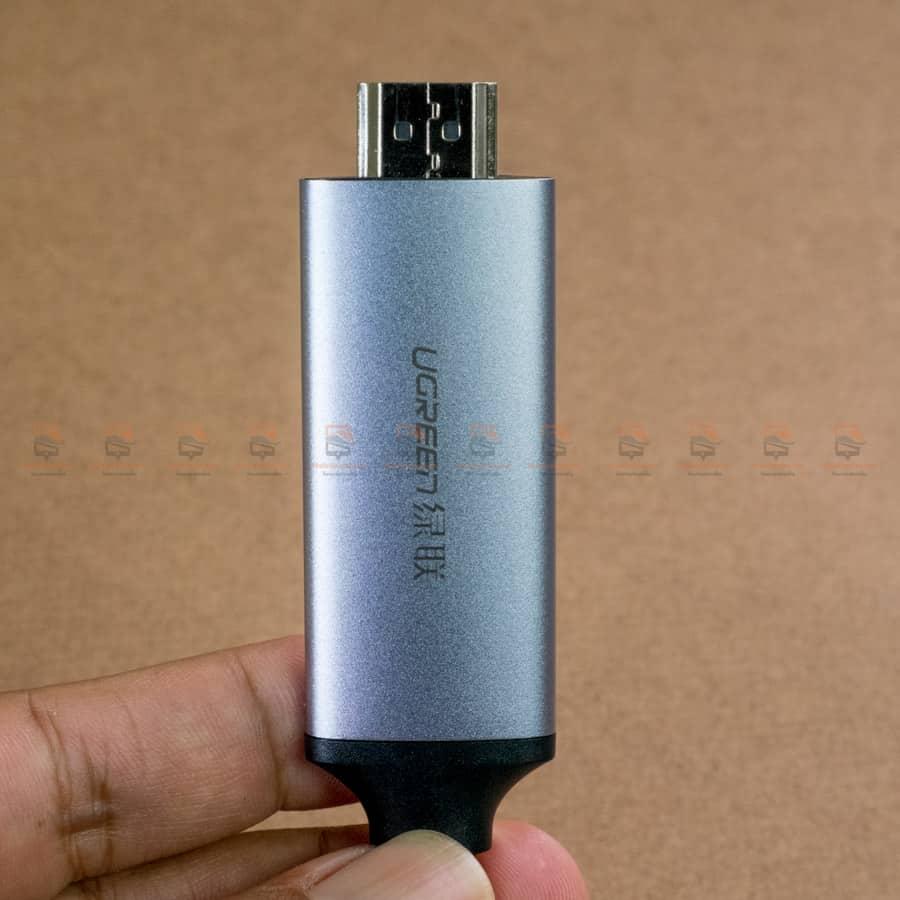 ต่อมือถือเข้าทีวี Ugreen for iPhone Android Phone ไอโฟน 8 X 7 6s Plus - Samsung รีวิว-5