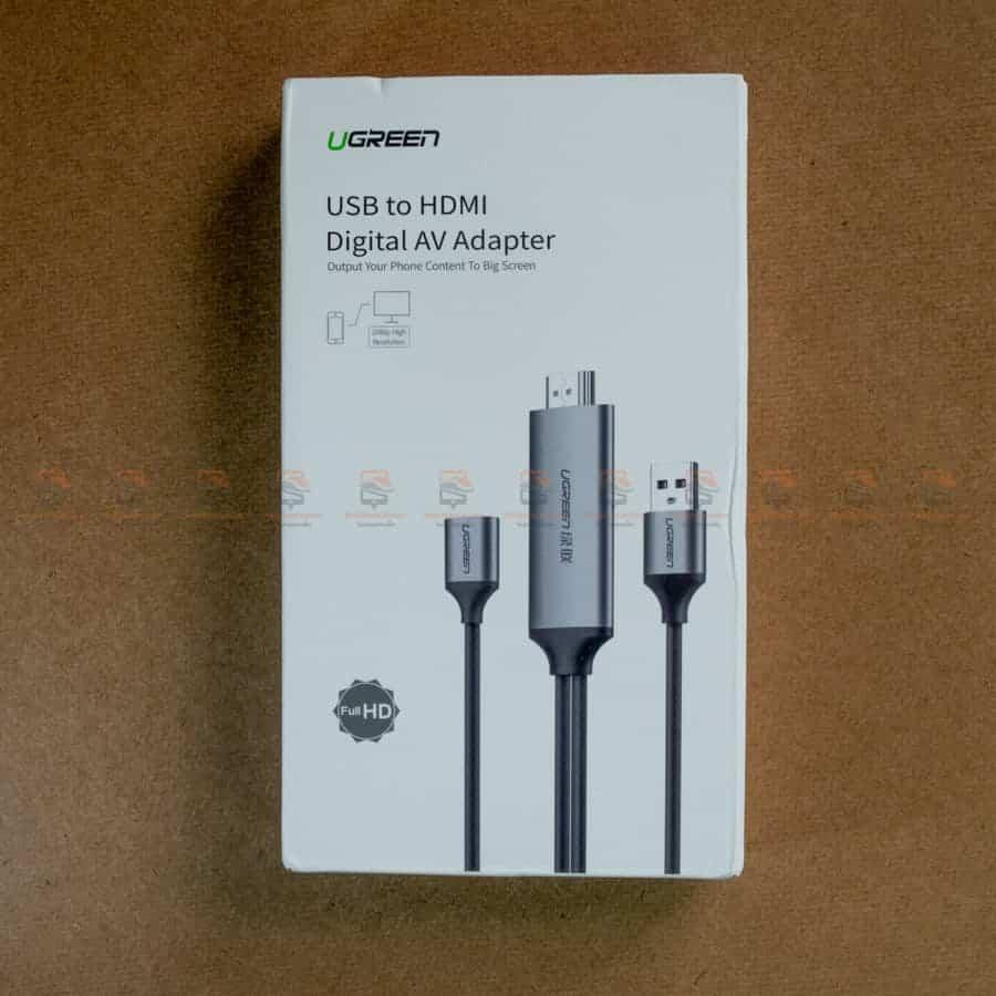 ต่อมือถือเข้าทีวี Ugreen for iPhone Android Phone ไอโฟน 8 X 7 6s Plus - Samsung รีวิว