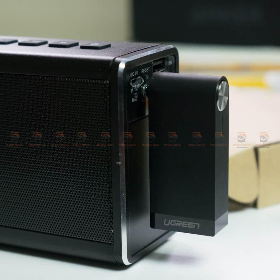 บลูทูธรถยนต์ Ugreen Bluetooth 4.2 Audio Receiver aptX รูปสินค้าจริง-7
