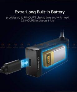 บลูทูธรถยนต์ Ugreen Bluetooth 4.2 Audio Receiver aptX-10