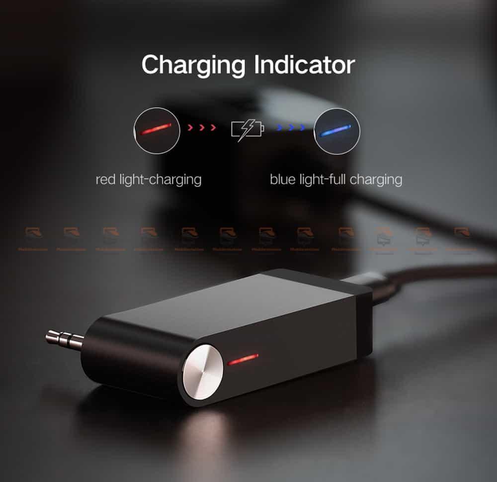 บลูทูธรถยนต์ Ugreen Bluetooth 4.2 Audio Receiver aptX-11