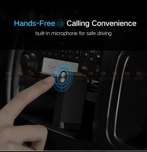 บลูทูธรถยนต์ Ugreen Bluetooth 4.2 Audio Receiver aptX-3