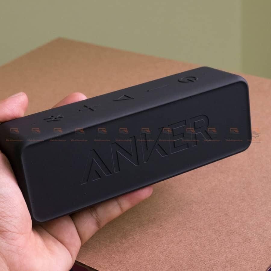 ลำโพงบลูทูธเสียงดี SoundCore 2 Bluetooth Speaker 12W Portable เบสหนัก กันน้ำ รีวิวสินค้าจริง-8