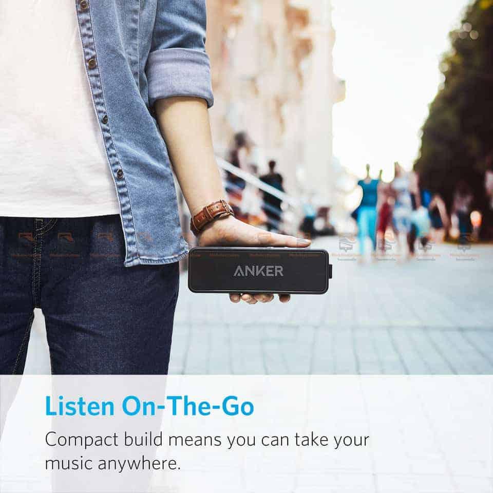 ลำโพงบลูทูธเสียงดี SoundCore 2 Bluetooth Speaker-5