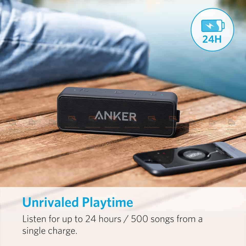 ลำโพงบลูทูธเสียงดี SoundCore 2 Bluetooth Speaker-7