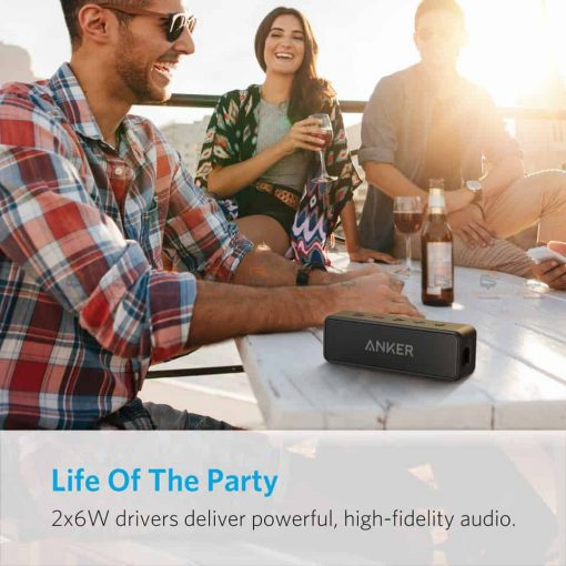 ลำโพงบลูทูธเสียงดี SoundCore 2 Bluetooth Speaker-8