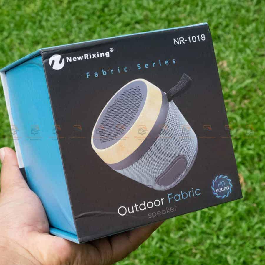 ลําโพงบลูทูธ NewRixing NR-1018 Outdoor Fabric Cloth Bluetooth Speaker Stereo Subwoofer 5W เสียงดี เบสหนัก รูปสินค้าจริง-12