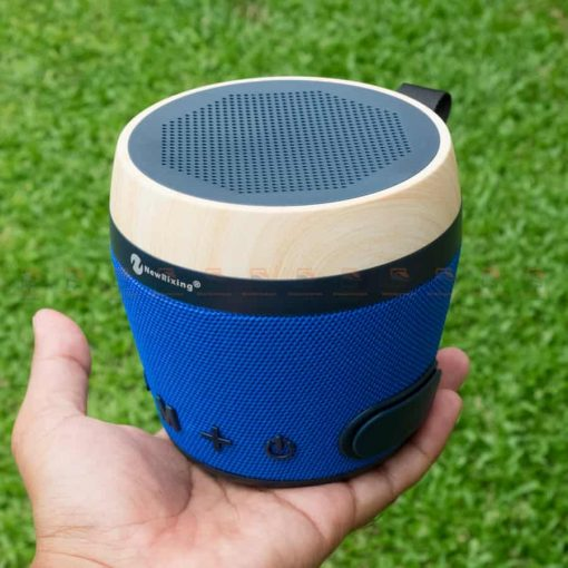 ลําโพงบลูทูธ เสียงดีราคาถูก NewRixing NR-1018 Outdoor Fabric Cloth Bluetooth Speaker Stereo Subwoofer 5W เสียงดี เบสหนัก รูปสินค้าจริง-2