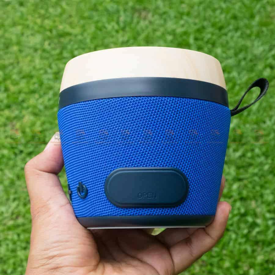 ลําโพงบลูทูธ NewRixing NR-1018 Outdoor Fabric Cloth Bluetooth Speaker Stereo Subwoofer 5W เสียงดี เบสหนัก รูปสินค้าจริง-3