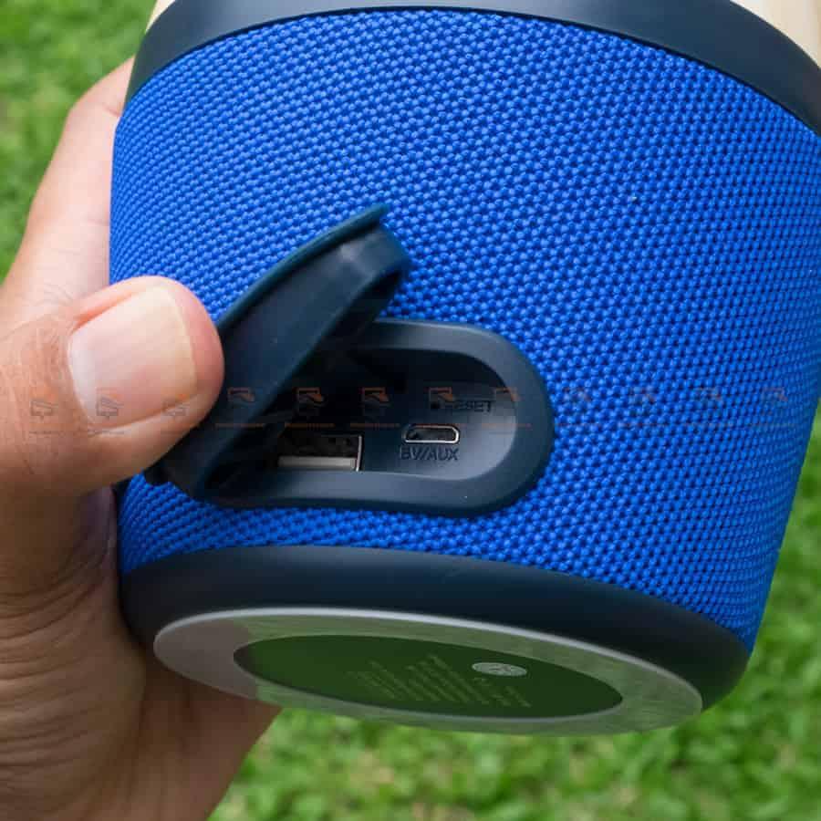 ลําโพงบลูทูธ NewRixing NR-1018 Outdoor Fabric Cloth Bluetooth Speaker Stereo Subwoofer 5W เสียงดี เบสหนัก รูปสินค้าจริง-4
