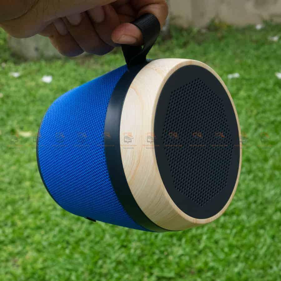ลําโพงบลูทูธ NewRixing NR-1018 Outdoor Fabric Cloth Bluetooth Speaker Stereo Subwoofer 5W เสียงดี เบสหนัก รูปสินค้าจริง-5