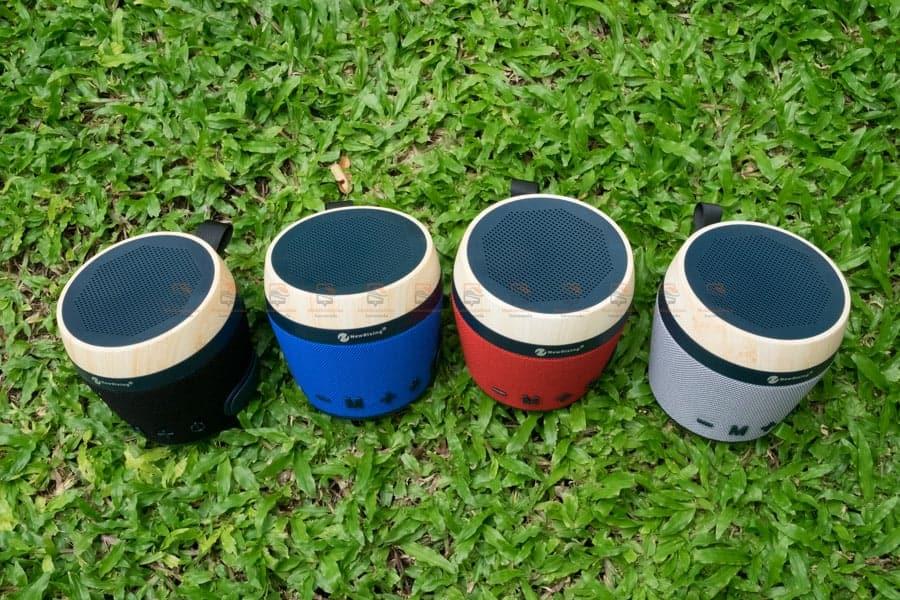 ลําโพงบลูทูธ NewRixing NR-1018 Outdoor Fabric Cloth Bluetooth Speaker Stereo Subwoofer 5W เสียงดี เบสหนัก รูปสินค้าจริง-8