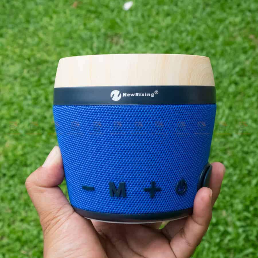 ลําโพงบลูทูธ NewRixing NR-1018 Outdoor Fabric Cloth Bluetooth Speaker Stereo Subwoofer 5W เสียงดี เบสหนัก รูปสินค้าจริง