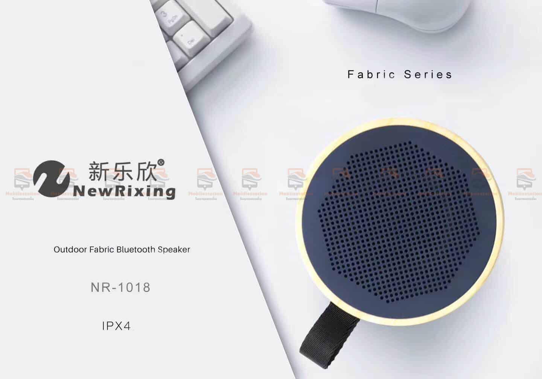 ลําโพงบลูทูธ ราคาถูก NewRixing NR-1018 Outdoor Fabric Cloth Bluetooth Speaker Stereo Subwoofer 5W เสียงดี เบสหนัก-4