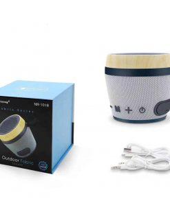 ลําโพงบลูทูธ ราคาถูก NewRixing NR-1018 Outdoor Fabric Cloth Bluetooth Speaker Stereo Subwoofer 5W เสียงดี เบสหนัก-5
