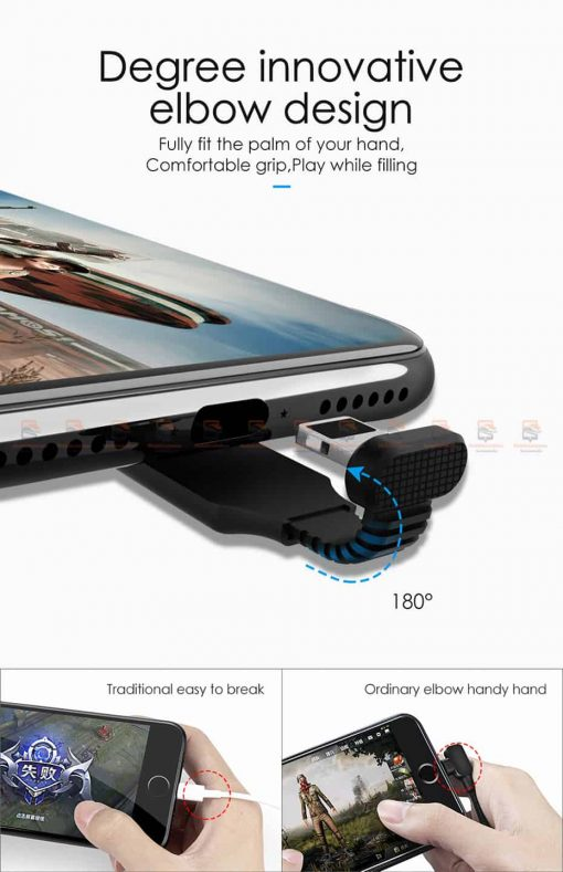 สายชาร์จเล่นเกมส์ Mcdodo USB Cable for iPhone 8 7 6 6s Plus Fast Charging 2