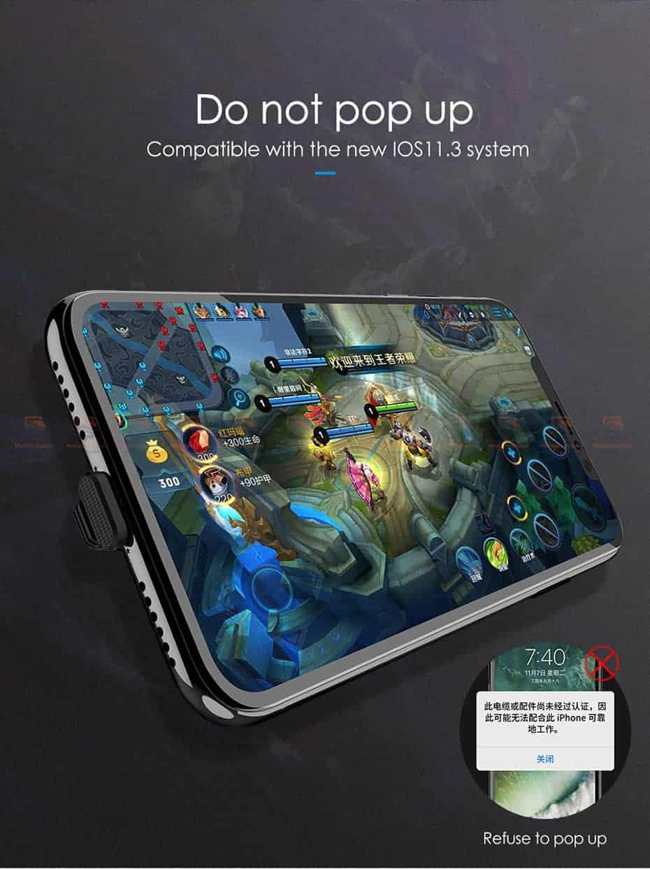 สายชาร์จเล่นเกมส์ Mcdodo USB Cable for iPhone 8 7 6 6s Plus Fast Charging 3