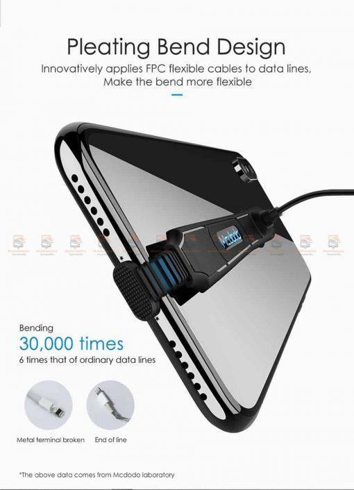 สายชาร์จเล่นเกมส์ Mcdodo USB Cable for iPhone 8 7 6 6s Plus Fast Charging 7