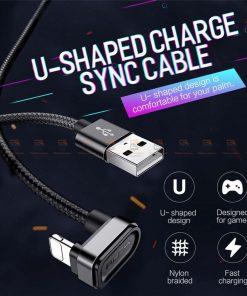 สายชาร์จเล่นเกมส์ ROCK for iPhone Game USB Cable Lighting 1
