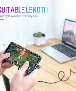 สายชาร์จเล่นเกมส์ ROCK for iPhone Game USB Cable Lighting 10