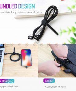 สายชาร์จเล่นเกมส์ ROCK for iPhone Game USB Cable Lighting 11