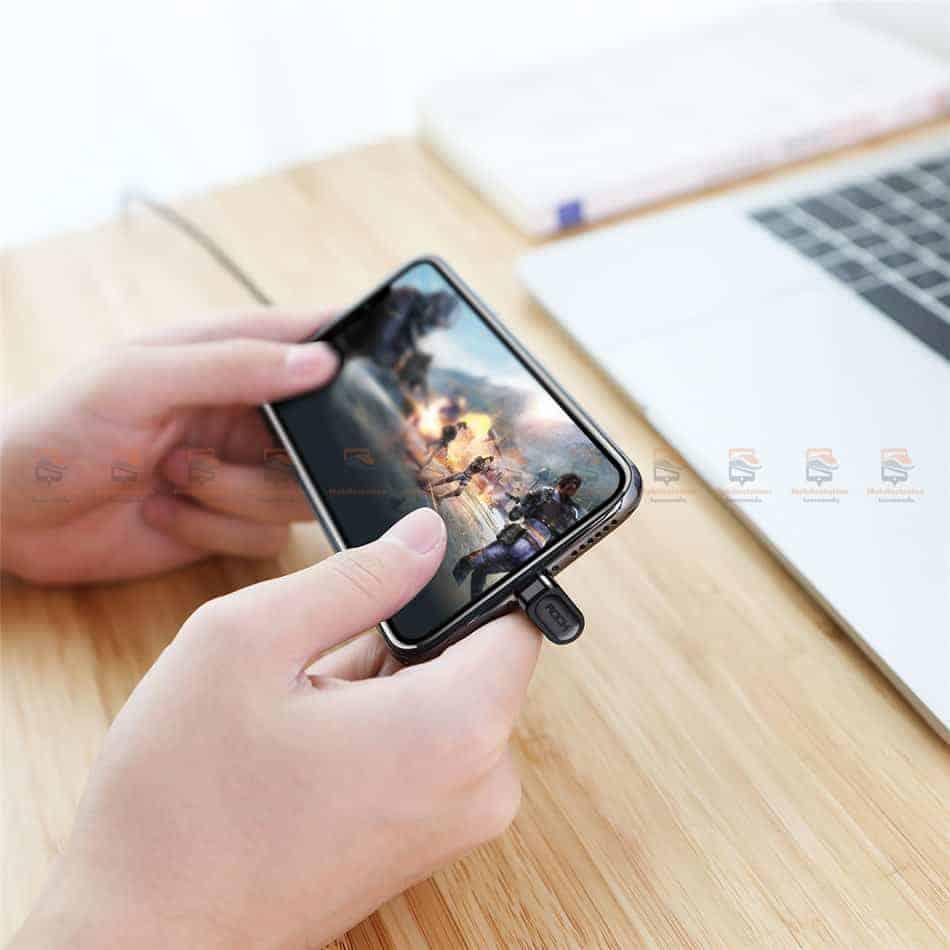 สายชาร์จเล่นเกมส์ ROCK for iPhone Game USB Cable Lightning 17