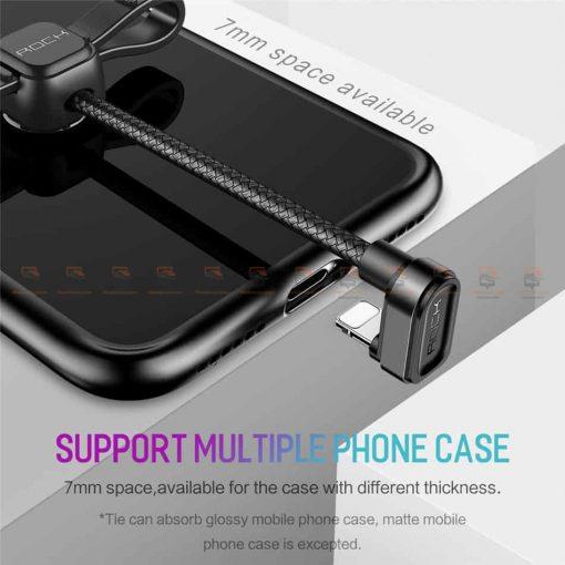 สายชาร์จเล่นเกมส์ ROCK for iPhone Game USB Cable Lighting 5