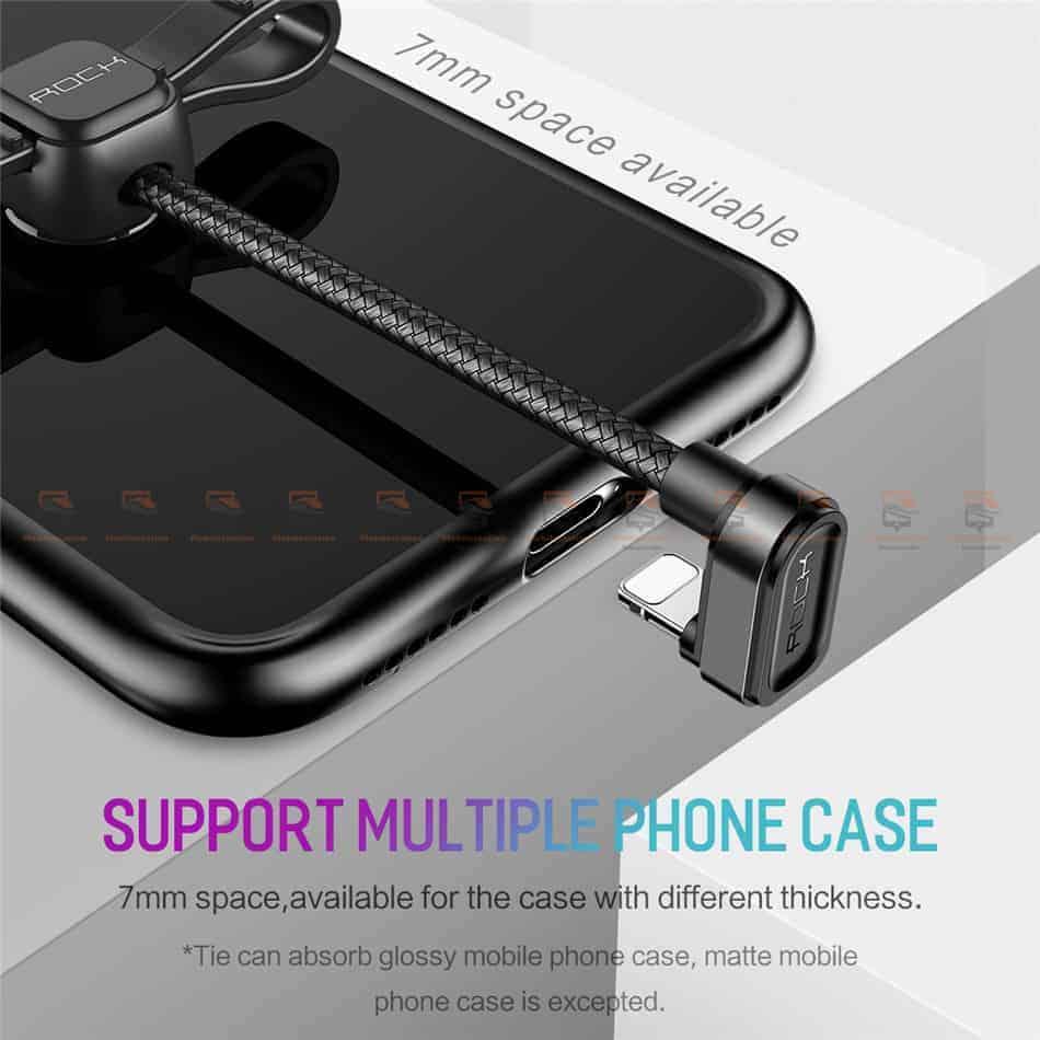 สายชาร์จเล่นเกมส์ ROCK for iPhone Game USB Cable Lightning 5